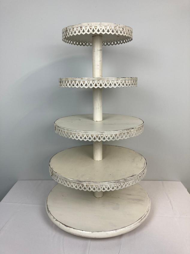 5 Tier Dessert Stand