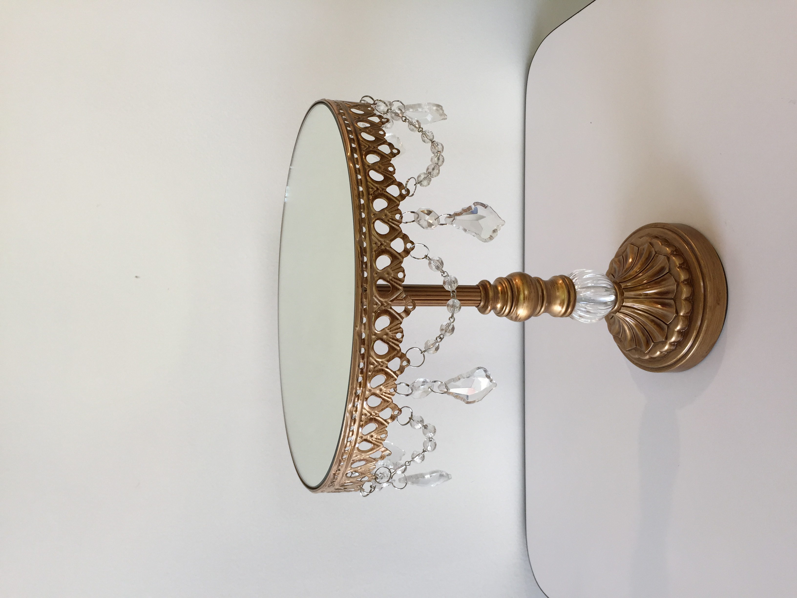 Fancy Gold Cake Stand