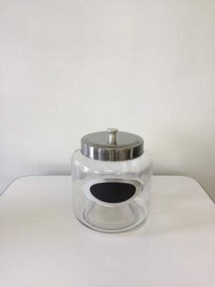 Medium Glass Jar w/ Lid