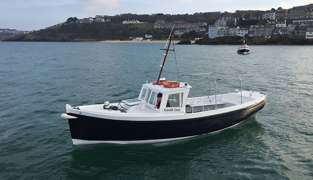 Private Charter on the Cornish Crest St Ives Boat Charters