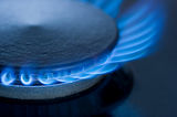 blue flame, natural gas department services