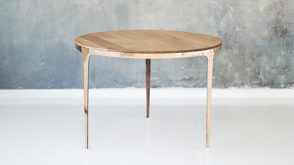 "Бронзовый обеденный стол ""Ring Table"" 3"