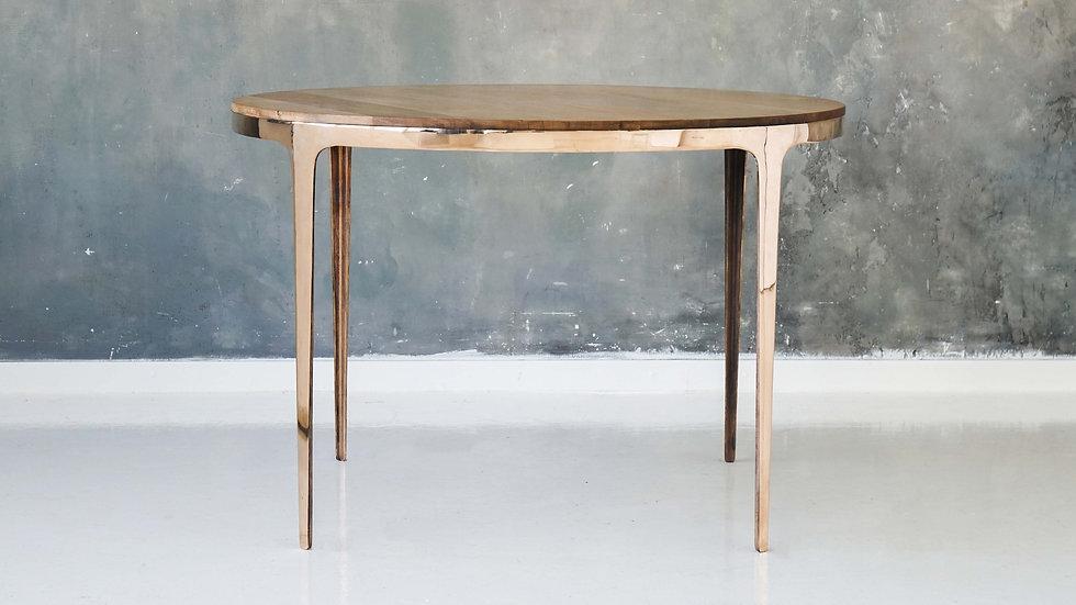 """Бронзовый обеденный стол """"Ring Table""""                        c  четырьмя ножками"""