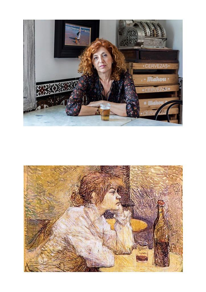 """Henri de Toulouse-Lautrec - """"La resaca."""