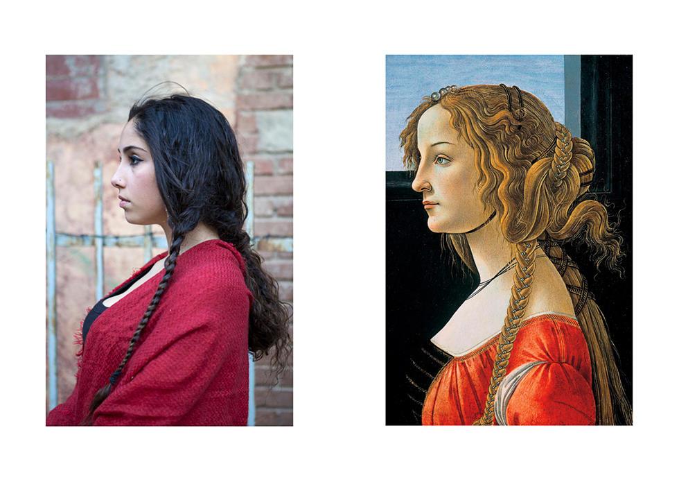 Simonetta Vespucci de Sandro Botticelli-