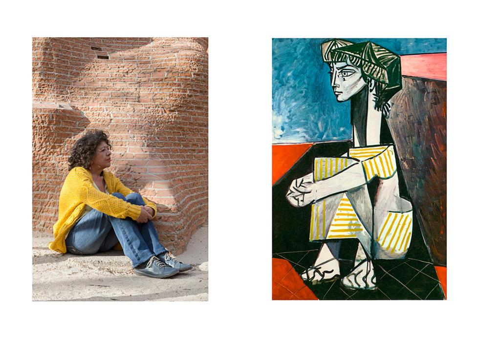Picasso- RETRATO DE JACQUELINE ROQUE