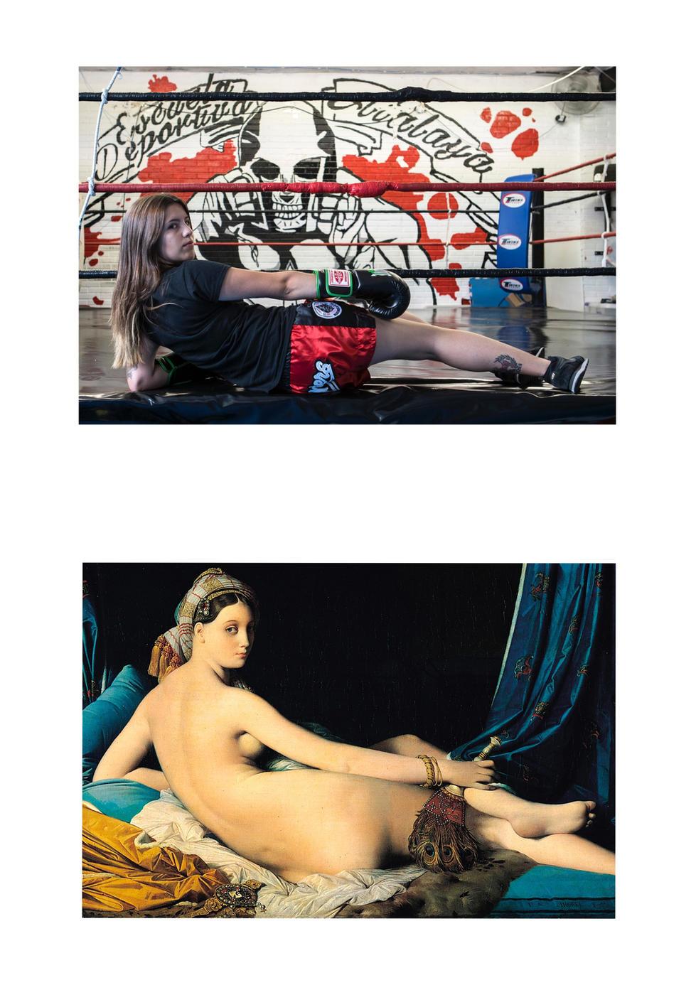 La gran odalisca -Jean-Auguste-Dominique Ingres