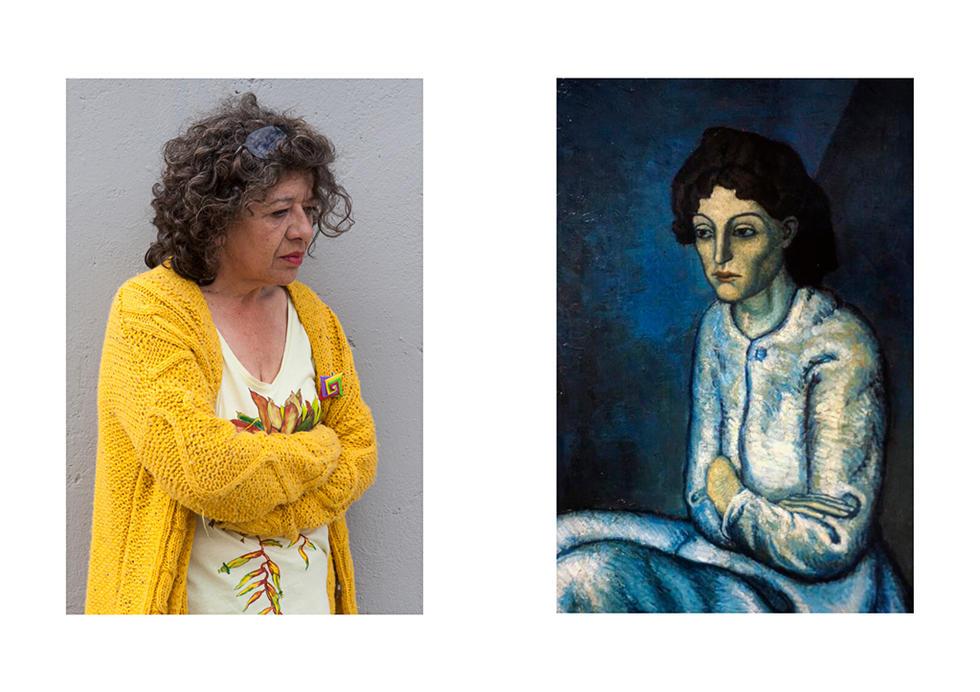 Femme aux Bras Croisés - Pablo Picasso-