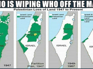 The 'Nakba',The Palestinian catastrophe, started in 1947 and continues to this day.