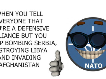 NATO - The defensive alliance that bombs and invades countries worldwide