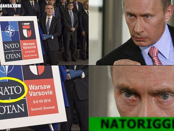 "Putin's ""trigger"" word is NATO."