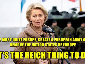 Meet Ursula von der Leyen, the EU's new German Kanzler.