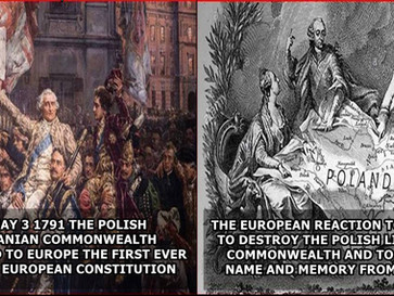 How Europe destroyed the first European constitutional democracy, the Polish Lithuanian commonwealth