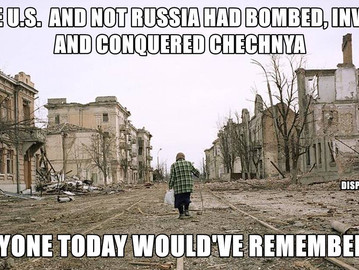 Russia's forgotten war and conquest of Chechnya.