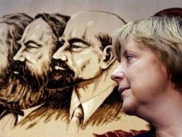 Angela Merkel's secret Communist past.