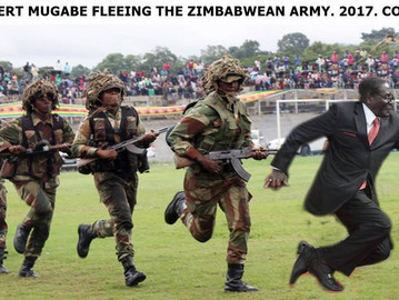 Zimbabwe's army launched a coup against Mugabe, has him detained.
