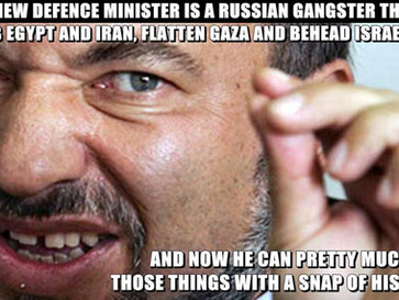 Avigdor Liberman, Israel's new defence minister, is terrifying.
