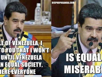 "Venezuela's version of ""equality""."