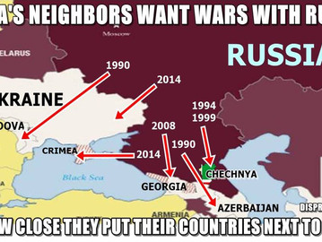 The reason why Russia's neighbors want to join NATO.