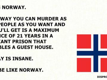 Norway's Insanity.