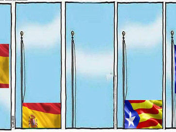 Catalonia declare independence and Spain declare a state of emergency.