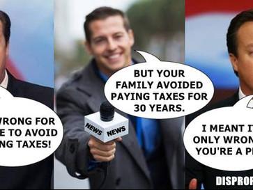 David Cameron's tax hypocrisy revealed.