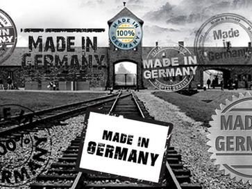 German propaganda whitewashes German crimes in the Holocaust.