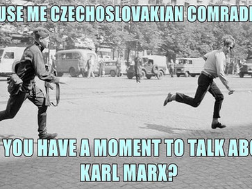 The USSR invaded Czechoslovakia in 1968 and crushed the 'Prague Spring'.