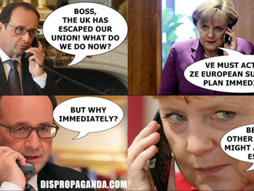 REVEALED - Following Brexit, Germany and France push for a European superstate.