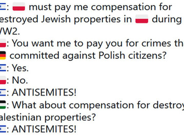 Diplomatic war erupts between Poland and Israel over compensation for German crimes during WW2