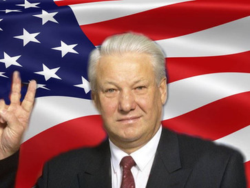 How the US colluded with Yeltsin and helped him win the Russian elections.