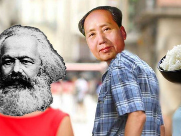 Mao Zedong, the man who starved China.