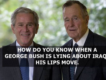 How George Bush senior and junior lied about Saddam to justify wars against Iraq