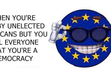 The EU is the opposite of a democratic organization.