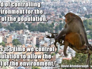 David Attenborough's messege to humanity.
