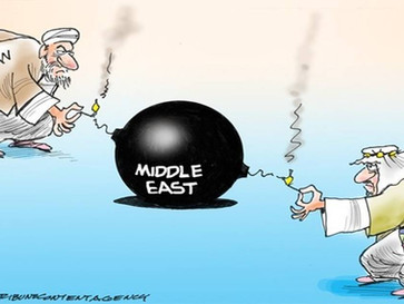 "Iran blames Saudi Arabia for today's terror attack, vow ""revenge""."