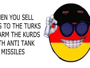 Germany armed Kurds with anti Tank missiles after selling Tanks to the Turks.