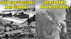 Debunking the myths and propaganda behind 'D-Day'.
