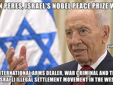"""The truth about Shimon Peres, and no, he wasn't a """"dovish peacemaker""""."""