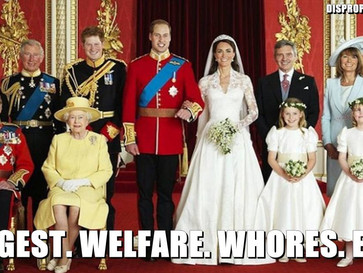 The Royal family costs the UK taxpayers almost $500 million, a year.
