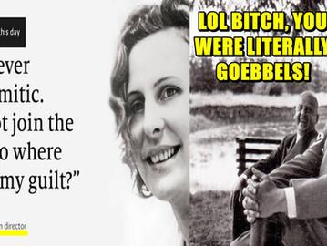 'The Economist' whitewashes and promotes Nazi propagandist Leni Riefenstahl.