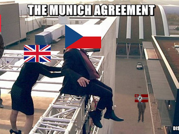 The Munich Agreements - How Europe forced Czechoslovakia to commit suicide.