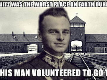 The unbelievable story of Witold Pilecki, who volunteered to go to Auschwitz.