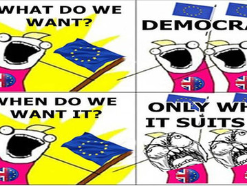 "Anti democracy pro EU forces in the UK attempt to subvert British democracy and derail ""Brexit&"