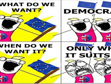 """Anti democracy pro EU forces in the UK attempt to subvert British democracy and derail """"Brexit&"""