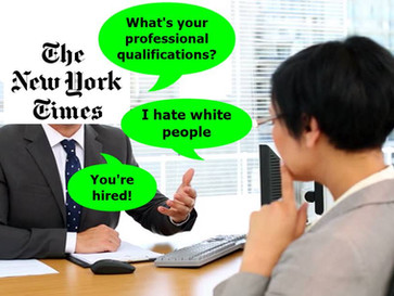 The New York Times has no shame in hiring and defending racist bigots.
