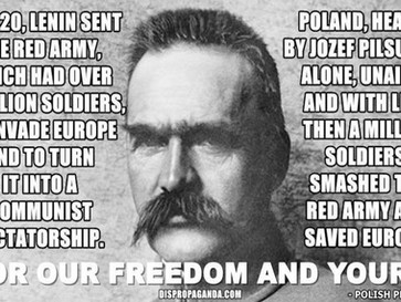 How Józef Piłsudski and Poland saved Europe from a Soviet invasion in 1920.