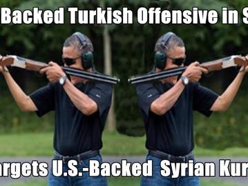 US backs both Syrian Anti Turkey groups and Turkish anti Syrian Kurds offensive.