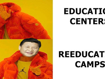 China keeps millions of people in secret 'reeducation' concentration camps.