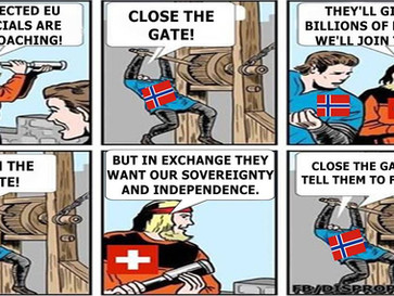 Switzerland and Norway are proof that you can do very well outside the EU.
